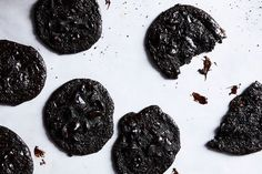 Colpa Degno (Flourless Triple-Chocolate Cookies) recipe on Food52