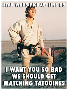 #StarWars Pick-up Lines