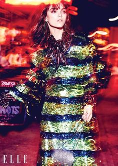 The December 2015 issue of Elle Canada has the ultimate party girl how-to with a fashion editorial called, 'Friday Night Lights'. Model Jenna Earle truly sparkles in sequin and metallic looks from some of fashion's top brands in these Max Abadian lensed images. Stylist Juliana Schiavinatto selects pieces that bring the shine factor from the …