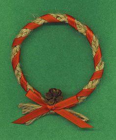 bailing twine wreath