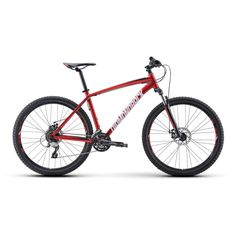 Diamondback Overdrive Hardtail Mountain Bike Red - 22