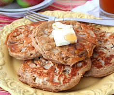 apple cider pancakes - YUM! from http://www.alldayidreamaboutfood.com/2011/10/whole-wheat-apple-cider-pancakes.html