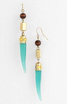 Spring Street Horn Earrings | Nordstrom