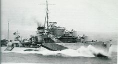 HMS Laforey (G99) was a L-class destroyer of the British Royal Navy. (google.image) 01.17 #6A