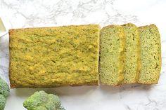 Paleo 'Cheesy' Broccoli Bread