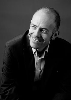 Proof that a black and white headshot can still feel relaxed and personable   photo by Sarah Pierce Photography/Minneapolis Headshots