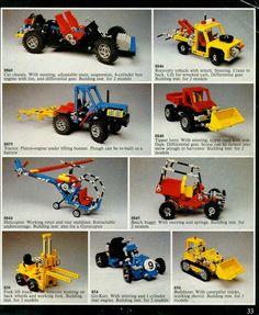 Lego Cars, Lego 4, Cool Lego, Awesome Lego, Lego Technic Truck, Lego Technic Sets, Classic Lego, Classic Toys, Lego Vintage