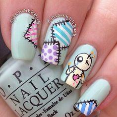 Image via We Heart It https://weheartit.com/entry/157682572 #art #blue #color #cute #fashion #nail #nailpolish