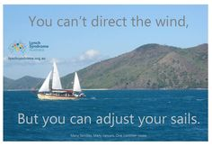 Knowledge and annual surveillance can greatly reduce your cancer risk. That's how you can adjust your sails!