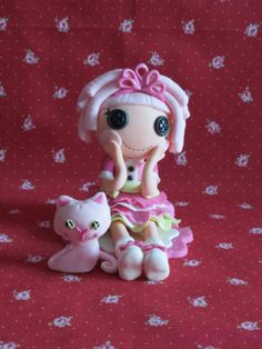 Edible Lalaloopsy Inspired Cake Topper by LikeButter