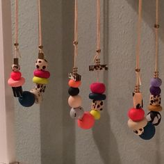 Lots of choice of our Speckles necklaces!:)