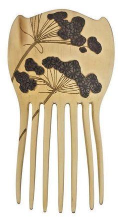 Lalique blackberry comb