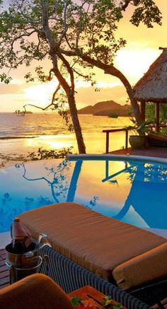 Namale Resort & Spa, Fiji Islands I could really use a vacay here, right…
