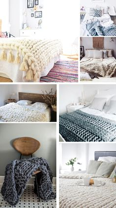 How to knit blanket XXL with arms super fast and easy - The How to Co . Diy Room Decor, Bedroom Decor, Home Decor, Bedroom Chair, Finger Crochet, Hand Crochet, Chunky Blanket, Ideias Diy, Arm Knitting