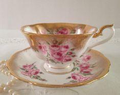 """Royal Albert China Tea Cup & Saucer """"Bridesmaid Rose"""""""