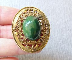 GREEN VINTAGE JEWELRY from the Ecochic Team by Jan B. on Etsy