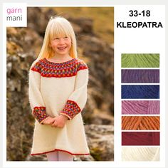 36-17 FLÓI Modell 2 - Garnmani.no - Spesialist på islandsk ull Dresses With Sleeves, Long Sleeve, Pink, Fashion, Threading, Scale Model, Moda, Sleeve Dresses, Long Dress Patterns