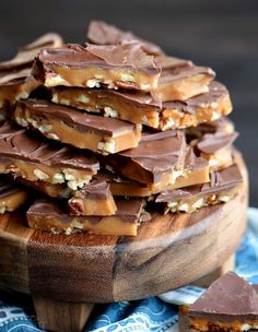 The best toffee recipe EVER! Sweet milk chocolate, crunchy pecans, and rich, buttery toffee - what's not to love? This Better Than Anything Toffee is easy to make and makes the perfect treat OR gift year-round! Don't forget to add this sweet treat to your Caramel Recipes, Fudge Recipes, Baking Recipes, Dessert Recipes, Cookie Recipes, The Best Toffee Recipe, Easy Toffee Recipe, English Toffee Recipe, Sugar Free Toffee Recipe