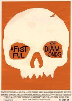 Retro poster David Carson, O Keeffe, Rock And Roll, Diamonds, Graphic Design, Retro, Wordpress, Movie Posters, Content