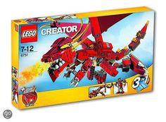 LEGO Creator Vuurspuwende Legende - 6751