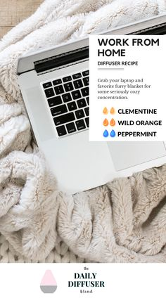 Need the perfect essential oil blend for your workday? Try this one that features Clementine, Wild Orange and Peppermint.