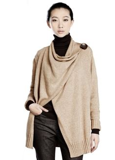 Celestial Wool Drape Front Cardigan in September 2012 from Lafayette 148 New York