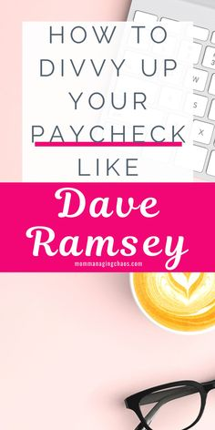 Want to start budgeting your money effectively? Check out Dave Ramsey's recommended budgeting percentages to start managing your money so you can pay off debt and save more money.   Budgeting Finances | Money Management | How to Budget Your Money | #daveramsey #budget #money #moneytips