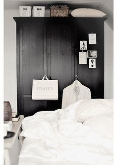black cupboard