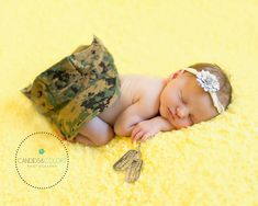 Newborn girl daughter of a marine. Loving my military babies. Newborn photo photography military shoot. Candids & Colors photography https://www.facebook.com/CandidsandColorsPhotography