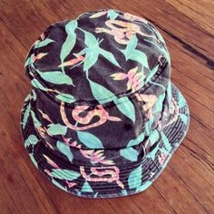 custom bucket hat ith serpent print and enzyme wash by  thesaucesuppliers.com   custom bucket 34ae5c7b75b9