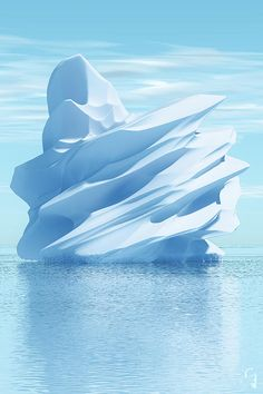 Iceberg Digital Art - Iceberg by Matt Lindley Beautiful World, Beautiful Places, Landscape Photography, Nature Photography, Cool Pictures, Cool Photos, Ice Castles, Winter Scenery, Abstract Landscape