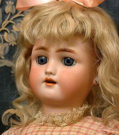 "Hello Gorgeous! 18"" Heinrich Handwerck Daisy Antique Doll w/ Original Wig Daisy Antique Doll Ladys Home Journal Premium"