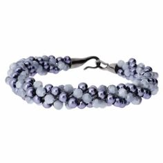 Kumihimo Bracelet - Grey Shadow  You must have a go at these bracelets, they are so easy to make and very pretty. They come with full instructions for you to use. I am sure all your friends will be asking you to make one, but don't tell them it only cost £4.99.