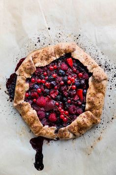 Mixed Berry Galette (Vegan) + The Green Life is 2 years old!