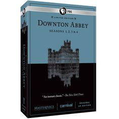 Amazon.com: Masterpiece: Downton Abbey Seasons 1, 2, 3, & 4: Hugh Bonneville, Elizabeth McGovern, Michelle Dockery, Maggie Smith, .: Movies & TV