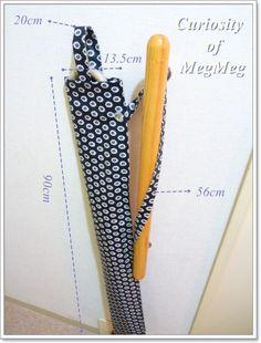 アンブレラケース(傘袋)の手作り Sewing, Handmade, Dressmaking, Hand Made, Couture, Stitching, Sew, Costura, Handarbeit