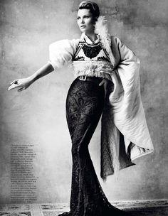 Kate Moss Celebrates Peruvian Style with Mario Testino for Vogue Paris April 2013   Fashion Gone Rogue: The Latest in Editorials and Campaigns