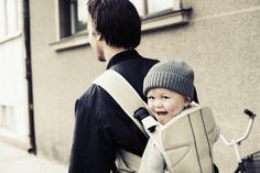 Baby Bjorn's Baby Carrier One is one of our 3 top baby carriers for dads. And the dads we know agree!