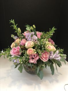 Beautiful spring flower arrangement.