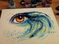 Mind Blowing Eye Paintings by Svenja Jodicke