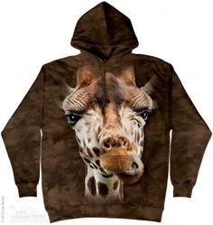 Giraffe Face- świetna koszulka 3D od The Mountain- sklep internetowy geekcode.pl