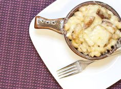 French onion mac-n-cheese