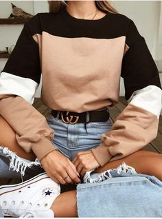 Street Style Summer Looks Summer outfits Cute Casual Outfits, Fall Outfits, Fashion Outfits, Womens Fashion, Latest Fashion, Trendy Fashion, Cheap Fashion, Fashion Tips, Fashion Trends