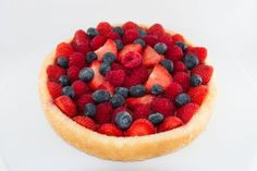 Summer Berry from Flan Recipe, Summer Berries, Pixie, Food To Make, Berry, Cheesecake, Make It Yourself, Cakes, Cooking