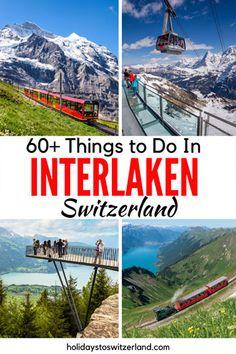Switzerland Travel Guide, Switzerland Vacation, Places To Travel, Travel Destinations, Places To Go, European Destination, European Travel, Switzerland Interlaken, Stuff To Do