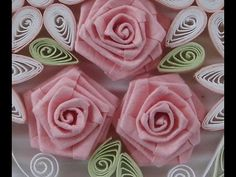 ▶ How to Fold Rose- Paper Quilling - YouTube