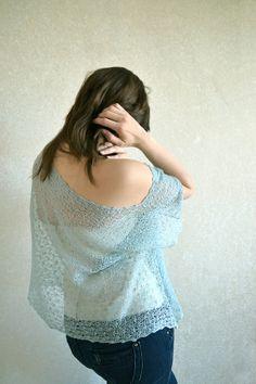 CIJ Linen Top / Blouse / Shirt / Tunic Knitted Thin por BVLifeStyle, $40.00
