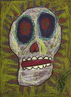 Art projects for kids inspired by the Modern Art masters. Mexican Crafts Kids, Mexican Folk Art, Third Grade Art, Diy Halloween, Mexican Halloween, Halloween 2019, Day Of The Dead Art, Skeleton Art, La Art
