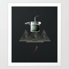 Essence Of Life · Zwischenwelten · The Black Series 2 Art Print by Marko Köppe - $19.99