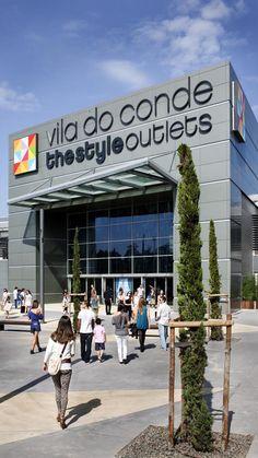 The Style Outlets en Vila do Conde, Porto